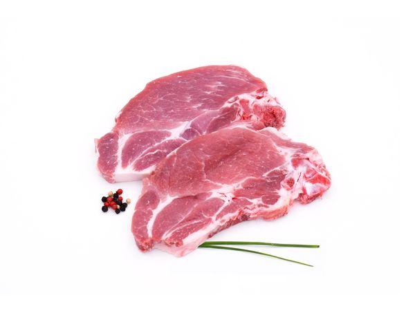 Côtes de porc échines français x 4