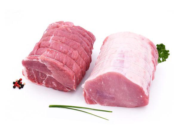 Rôti de porc français sans os (filet/échine)